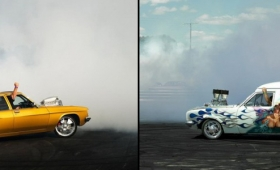 Inspiration: Burnouts de Simon Davidson