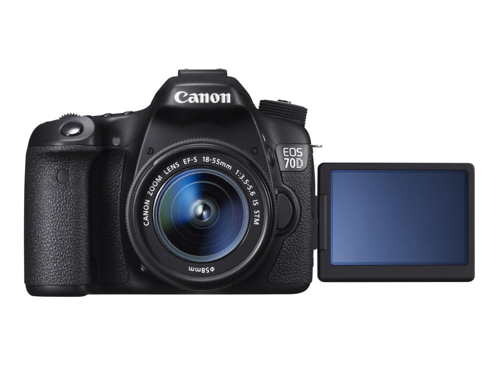 EOS-70D-FRT-VARI-ANGLE-MONITOR-OPEN-w-EF-S-18-55mm-IS-STM